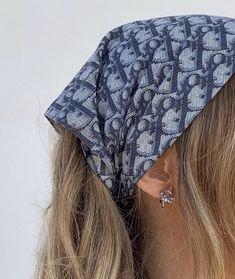 dior head scarf