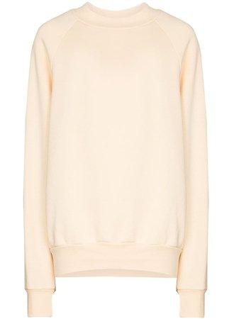 Les Tien crew-neck Cotton Sweatshirt - Farfetch