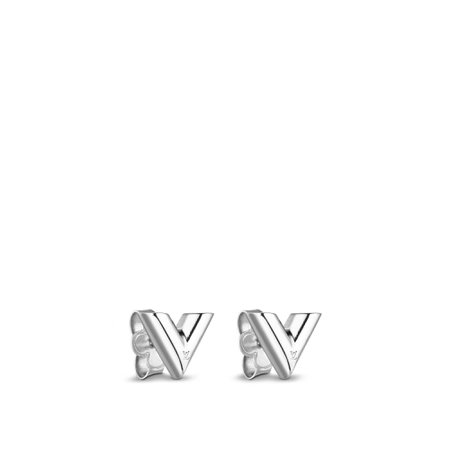 Essential V Stud Earrings - Accessories | LOUIS VUITTON ®