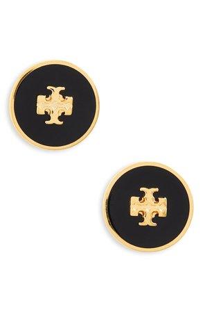 Tory Burch Kira Enamel Circle Stud Earrings | Nordstrom