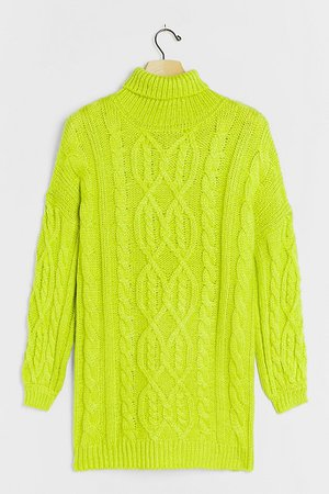 Alistair Cable-Knit Tunic Sweater | Anthropologie