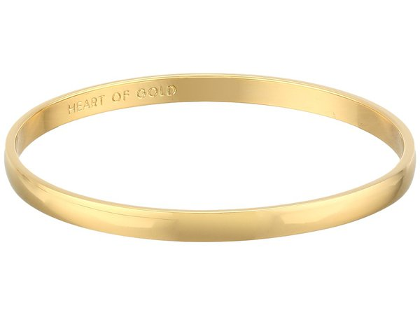 Kate Spade New York - Idiom Bangles 2 Heart Of Gold (Gold) Bracelet