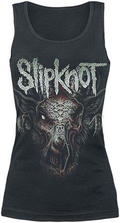 Slipknot Infected Goat Top Black M: Amazon.co.uk: Clothing
