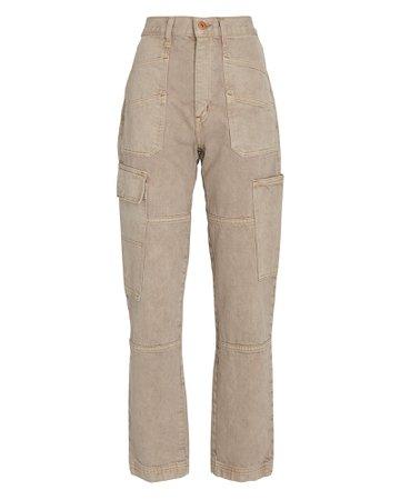 SLVRLAKE Savior High-Rise Cargo Jeans | INTERMIX®