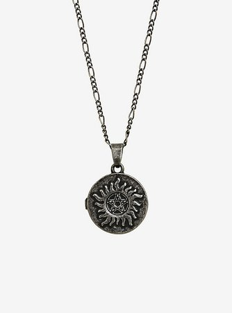 Supernatural Anti-Possession Locket Necklace