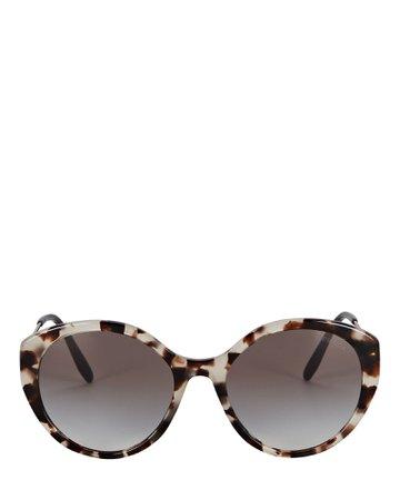 Prada Rounded Cat Eye Sunglasses | INTERMIX®