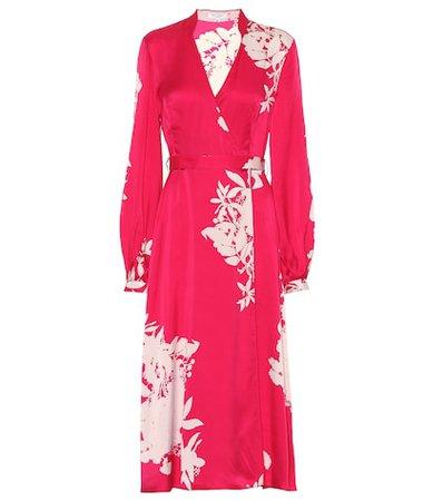 Andrese silk-blend dress