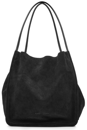 Extra Large Suede Tote Gr. One Size