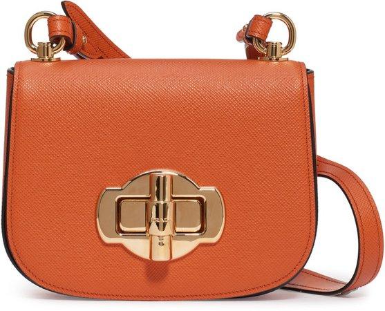 Saffiano Leather Crossbody Bag