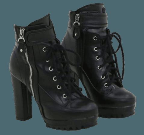 Combat Boot Heels