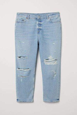 H&M+ Boyfriend Jeans - Blue