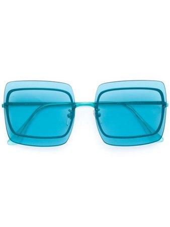 Retrosuperfuture Gia sunglasses blue UWE - Farfetch
