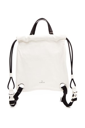 Drawstring Backpack in Leather Gr. One Size