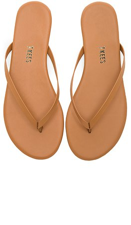 TKEES Foundations Flip Flops in Au Naturale | REVOLVE
