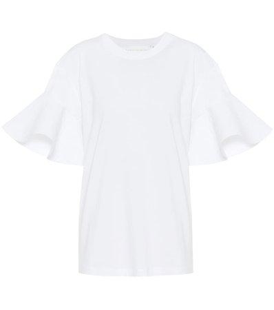 Cotton T-Shirt - Victoria Victoria Beckham | Mytheresa