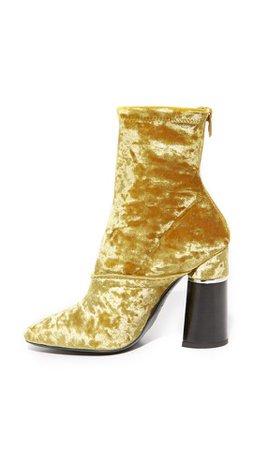 Rare Gold Velvet Phillip Lim Boots $95.50