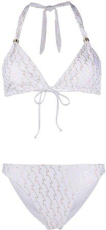 Metallic Star Bikini Set