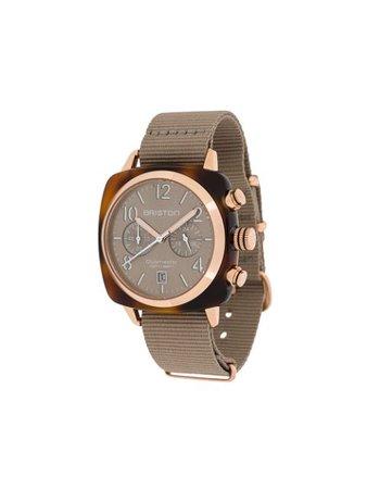 Briston Watches Clubmaster Classic 40mm watch - Farfetch