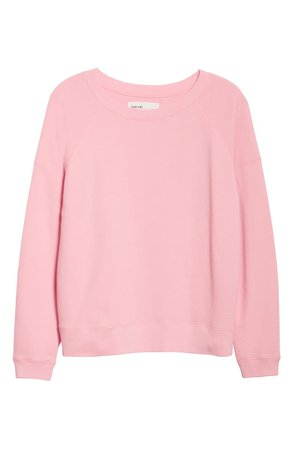 Entireworld French Terry Sweatshirt (Women) (Nordstrom Exclusive) | Nordstrom