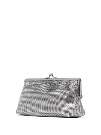 Paco Rabanne Pixel 1969 clutch bag with Express Delivery