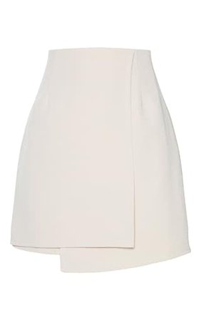 Stone Woven Wrap Mini Skirt | Skirts | PrettyLittleThing USA