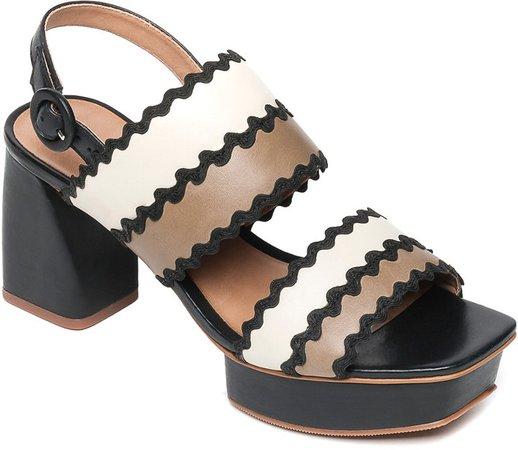Remi Leather Sandal