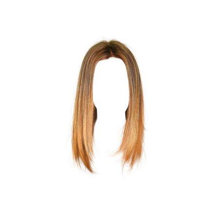 ombre short hair polymer