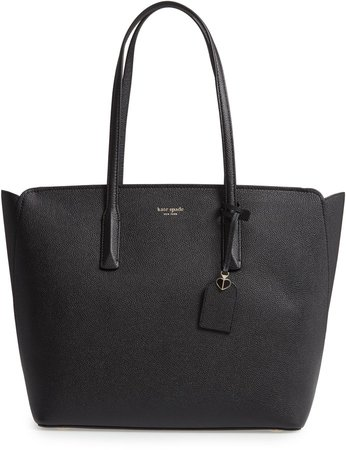 Large Margaux Leather Tote