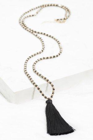 Gypsy Queen Tassel Necklace