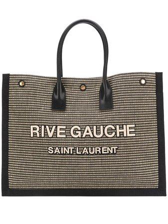 Saint Laurent Rive Gauche Tote Bag - Farfetch