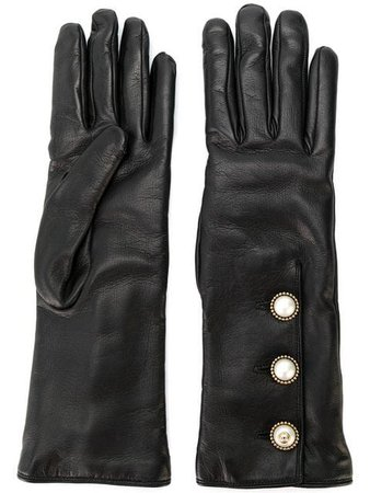 Gucci button trim long gloves $990 - Buy Online AW17 - Quick Shipping, Price