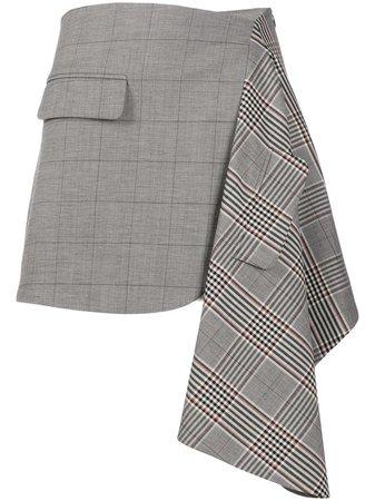 Monse Asymmetric Patch Skirt - Farfetch