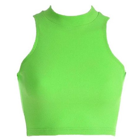 neon lime green shirt