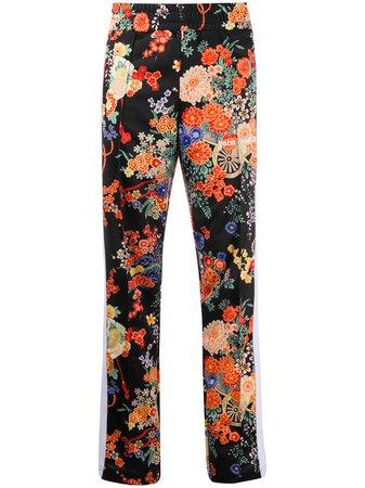 Palm Angels Floral Track Pants - Farfetch