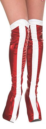 Rubie's Official Wonder Woman Boot Tops, Adults Costume: Amazon.co.uk: Toys & Games
