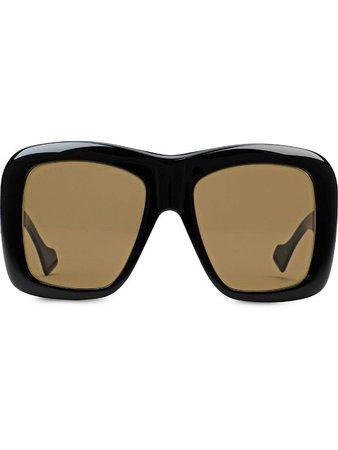 Gucci Eyewear Oversize square-frame Sunglasses - Farfetch