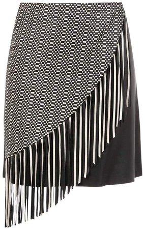 Nk fringed skirt