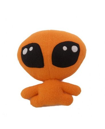 Orange Alien Stuffed Animal