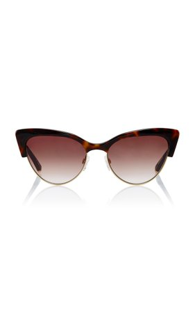 Kate Young Cecilia Cat-Eye Sunglasses