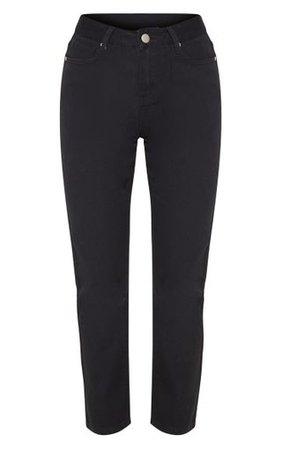 Black Basic Straight Leg Jean   Jeans   PrettyLittleThing