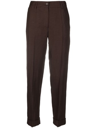 P.A.R.O.S.H. slim-fit tailored trousers - FARFETCH