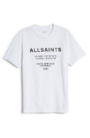 AllSaints Women's Graphic Tee | Nordstrom