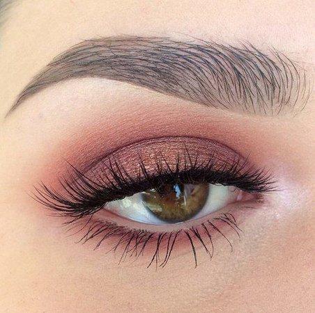 Hot pink eyeshadow