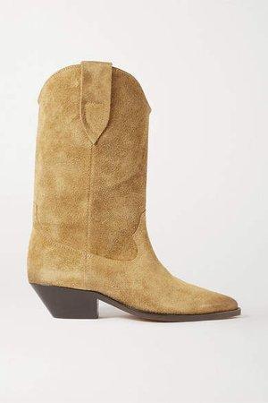 Duerto Suede Boots - Beige