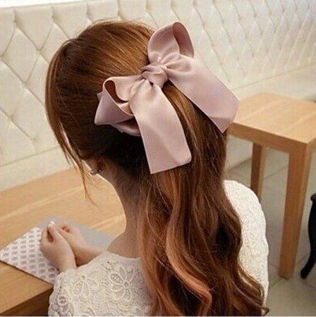 ribbon hairstyle