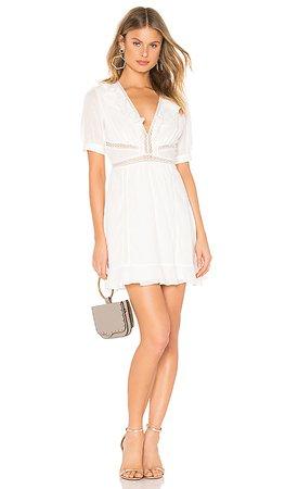 ASTR the Label Brennan Dress in White   REVOLVE