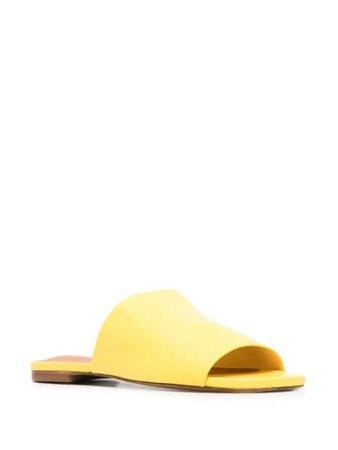 Clergerie Itou slip-on sandals yellow ITOU5317438 - Farfetch
