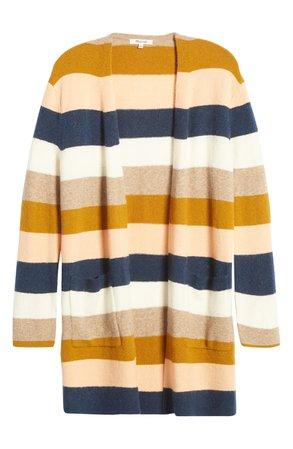 Madewell Kent Stripe Cardigan (Regular & Plus Size)   Nordstrom