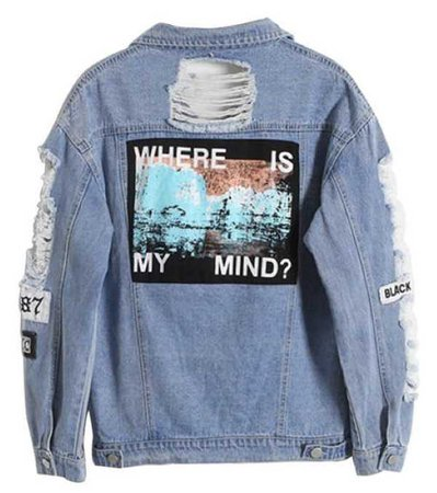 that insta girl denim jacket