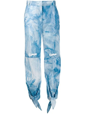 Off-White Pantalon De Jogging à Imprimé Tie Dye - Farfetch